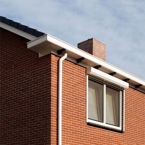 Kunststof dakgoten en windveren polyester komex for Deuren stadskanaal